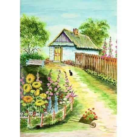 Ogródek W Malwach I...